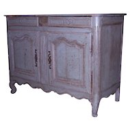 Antique French Buffet with original paint