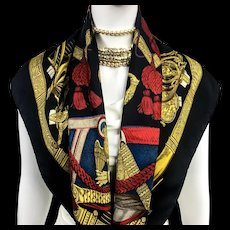 Hermes Silk Scarf Grand Uniforme RARE