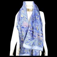 """Hermes Summer Silk GM Lalbhai 140cm x 140cm or 55"""" x 55"""" RARE"""