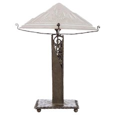 Muller Freres Art Deco Table Lamp