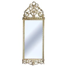 Louis XVI Pillar Mirror