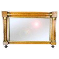Pair Gilded Biedermeier Mirrors
