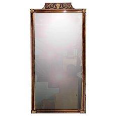Fine Gilded Empire Mirror
