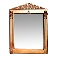 Mirror from a Freemason's Lodge