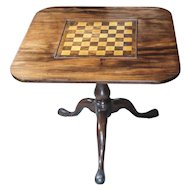 18th Century Tilt-top Chess Table