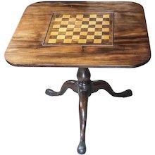 18th Century Tilt-top Chess Table