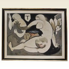 Cubist Painting by Miyake