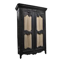 Regence Style Normandy Armoire