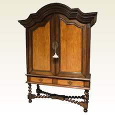 Dutch Colonial Cabinet on Stand