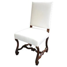 Antique Poltrona Side Chair