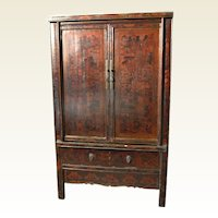 Oriental Lacquer Cupboard