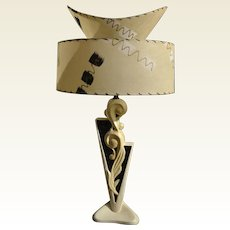 Deco Lamp & Two Tier Shade