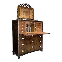 Painted American Secretaire
