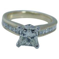 Scott Kay Diamond Ring 19K Gold Platinum