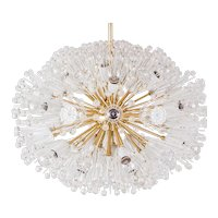 Oval snowflake Sputnik by Emil Stejnar for Rupert Nikoll