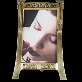 Jugendstil picture frame around 1908s