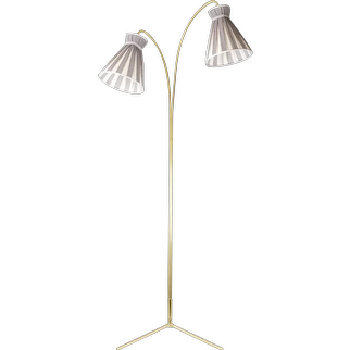Floor Lamp by Rupert Nikoll, circa 1950s