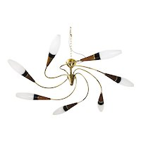 """""""Tornado"""" chandelier, by Rupert Nikoll,"""