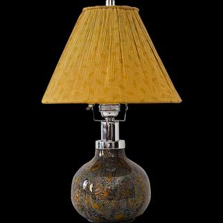 Ikora Glass Table Lamp, WMF, German, 1930s