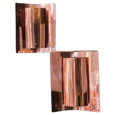 Danish Copper Pendants Lamp by Svend Aage Holm Sørensen, 1960s