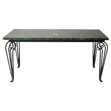 1940's French table in the manner of René Prou