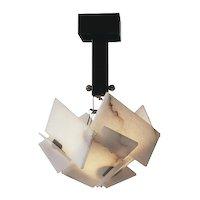 BOULLE grande chandelier by Pierre Chareau
