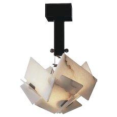 BOULLE petite chandelier by Pierre Chareau