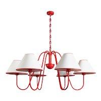 BOUQUET chandelier 6 lights