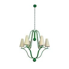 CORBEILLE chandelier by Jean Royère