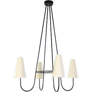HERISSON chandelier by Jean ROYERE