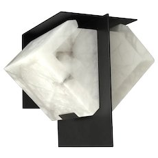 MASK 2 145 wall sconce by Pierre Chareau