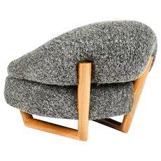 SCULPTURE low armchair by Jean Royère