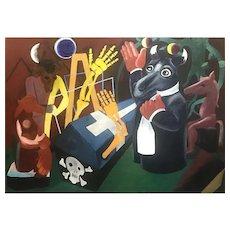 """""""varsaw"""" by Leon Sliwinski (1919-2001)"""