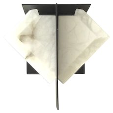 MASK 2 185 wall sconce by Pierre Chareau