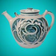 Studio Ceramic tea pot, Alan Caiger Smith