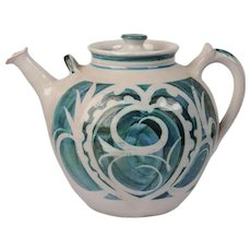 Studio Ceramic tea pot, Alan Caiger Smith
