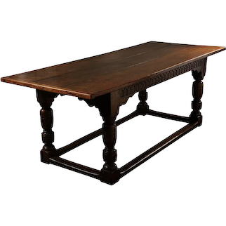 Mid 17th century English Oak Table
