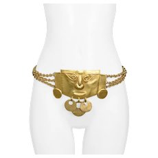Yves Saint Laurent Pre-Columbian Belt