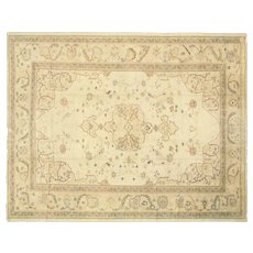 "1920s Turkish Oushak Carpet - 11'7"" x 14'4"""