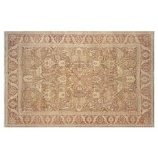"1980s Turkish Oushak Carpet - 9'10"" x 15'"