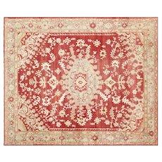 "1920s Turkish Oushak Carpet - 10'6"" x 12'10"""