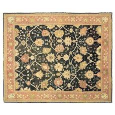 "1920s Turkish Oushak Carpet - 11'4"" x 13'9"""