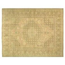 "1920s Turkish Oushak Carpet - 12'3"" x 15'7"""