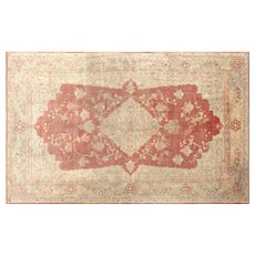 1920s Turkish Oushak Carpet - 8' x 13'