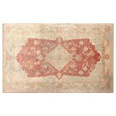 1920s Turkish Oushak Carpet - 8' x 13'