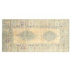 "1960s Turkish Oushak Carpet - 5'6"" x 11'"