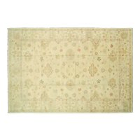 "Contemporary Indo Oushak Carpet - 12'7"" x 17'7"""