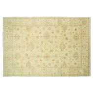 "Contemporary Indo Oushak Carpet - 12'7"" x 17'7"""