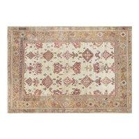 "1920s Turkish Oushak Carpet - 10' x 14'2"""