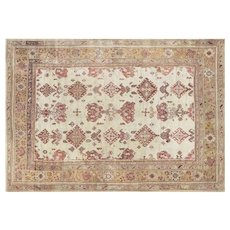 1920s Turkish Oushak Carpet - 10' x 14'2""